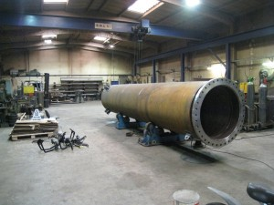 Petrochemical pipe manufacture