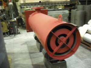 Industrial silencer manufacture